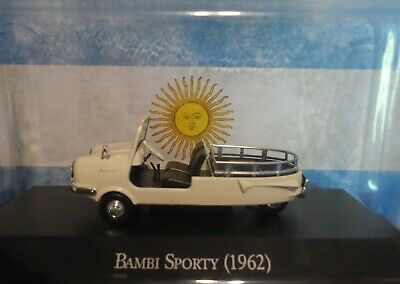 Bambi Sporty  1962  Argentina Diecast Car Scale 1:43