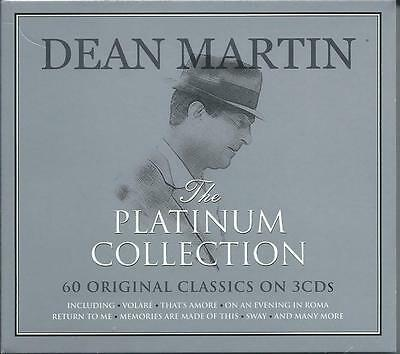 Dean Martin - The Platinum Collection / Greatest Hits / Best Of 3CD NEW/SEALED