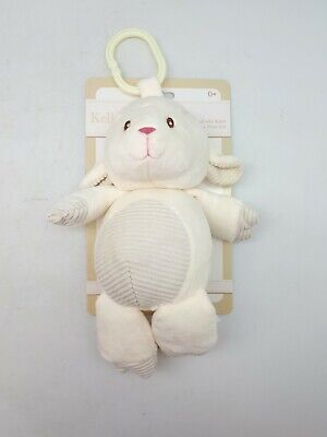 Kelly Baby Plush Infant Toy: Rattle | Clip On Toy