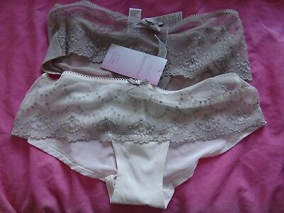 3 PAIR SIZE 6 BNWT LADIES M/&S LOW RISE SHORTS KNICKERS LIMITED COLLECTION
