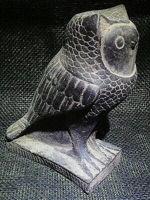 EGYPTIAN ANTIQUE ANTIQUITY Eagle Owl Statue Figure Sculpture 3100-2686 BC