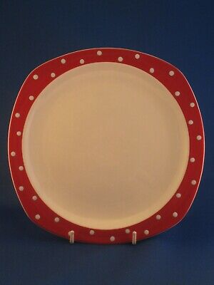 Midwinter Red Domino 19 cm plate Jessie Tait .