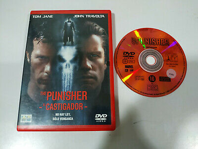 The Punisher el Castigador Tom Jane John Travolta - DVD Español - 1T