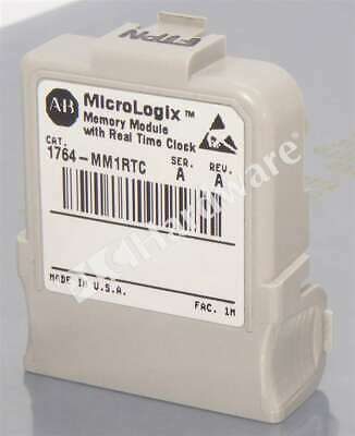 Allen Bradley 1764-MM1RTC /A MicroLogix 1500 8 KB Memory Module with RTC