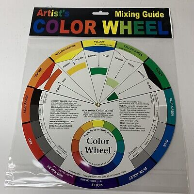 "New Cox 133343 Color Wheel 9-1/4""- Mixing Guide How To Use Color Wheel"