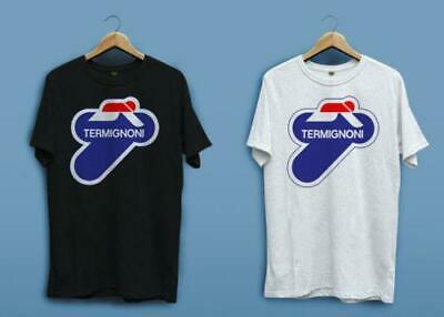 New Termignoni Motorcycles Exhaust System Ducati Tee White T-shirt