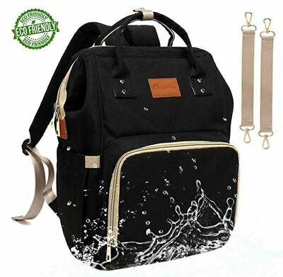 Backpack Diaper Bag Multi-Function Waterproof Large For Mummy Baby Girl And Boy