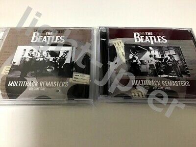 The Beatles Multitrack Remasters Vol 1 & 2 Digital Archives Promotion CD 4 Discs
