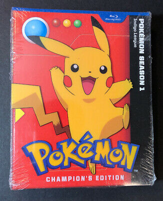 Pokemon Season 1 Indigo League [ Champion's Edition ] (Blu-ray Disc) NEW