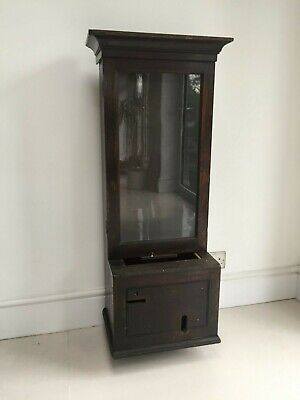 Gledhill Brook Fusee Clocking In Machine Oak Clock Case Time Recorder
