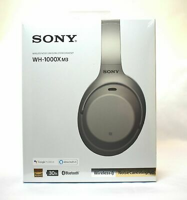 @=NEW!!=@ Sony WH-1000XM3 XM3 Wireless Noise Cancelling Headphones iPhone Galaxy