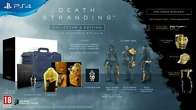 DEATH STRANDING Collector's Edition Steelbook BB Pod Case UK FOR THE PS4