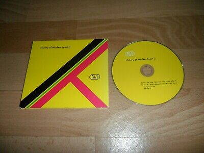 Orchestral Manoeuvres - History Of Modern (Very Rare 12 Track Cd Single)  Omd