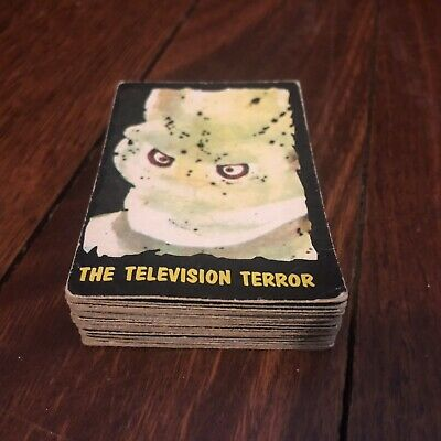 1964 TV MONSTERS OUTER LIMITS 30 Cards Lot RARE A&BC Gum Scanlens