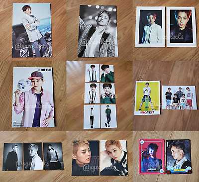 EXO XIUMIN Collection Sale OFFICIAL Postcards Minseok Exodus SMTOWN