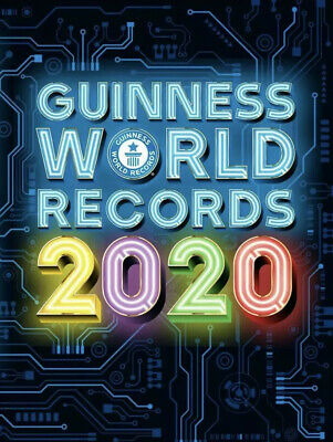 ^Guinness Book Of World Records 2020 Hardback Edition, Fast free post.