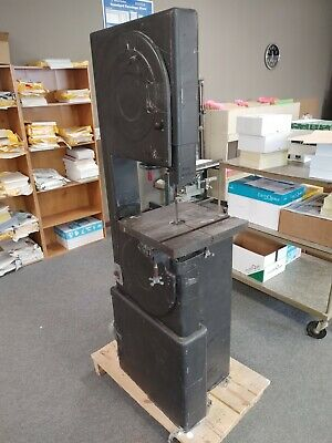 Boice Crane Vintage Vertical Band Saw 220v