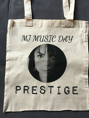 Michael Jackson TOTE BAG PRESTIGE Officiel Ed limitée MJ MUSIC DAY du 19/10/2019