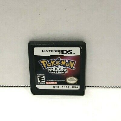 Pokemon Pearl Version - Nintendo DS - Game Cartridge Only - Great Condition