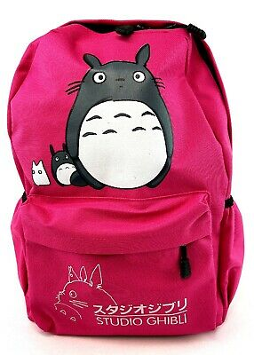 Teenager Cartoon My Neighbor Totoro Backpack Anime Canvas Casual Daypack