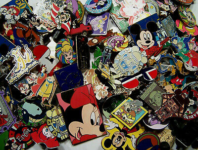Disney Trading Pins-Lot of 50-No Duplicates-Free Shipping