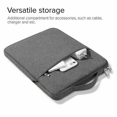 Laptop Notebook Sleeve Bag Case Grey Cover for MacBook/Air/Pro/Laptop 15/13 in