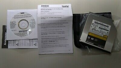 BRAND NEW Lenovo ThinkPad Ultrabay Slim DVD Burner II (Serial ATA) - 43N3229