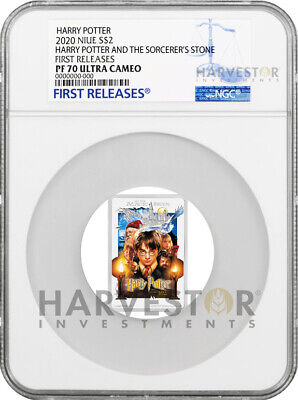 2020 Harry Potter And The Sorcerer's Stone Poster Coin - Ngc Pf70 First Releases