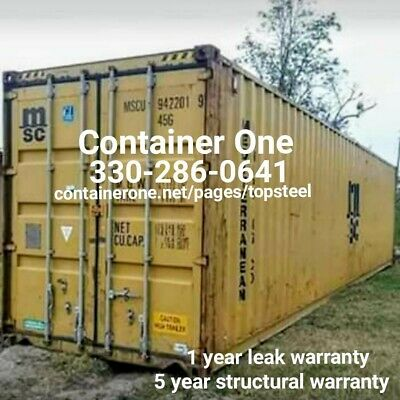 20 And 40 Conex Storage Shipping Containers In St Louis