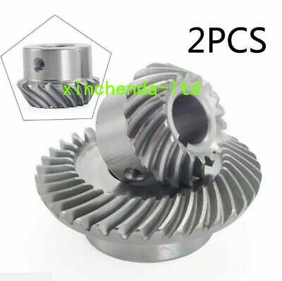 Set Milling Machine Lifting Gear C77+C96 Helical Mill Gear For Bridgeport Parts