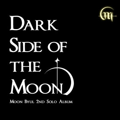 MOONBYUL [DARK SIDE OF THE MOON] 2nd Mini Album CD+POSTER+Book+Card+M.Poster+etc