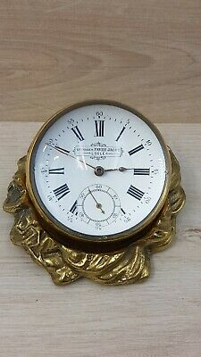 Georges Favre Jacot  Ball clock with holder circa 1900