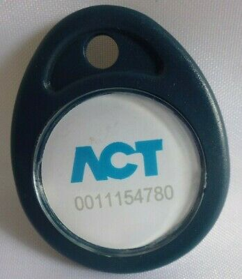 Pack of 10 ISO Proximity fob for use ACT range of readers.