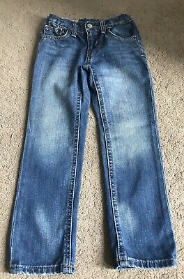 Lovely Polo Ralph Lauren Denim Blue Straight Jeans Size 4 Years Old