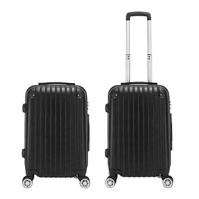 20 Inch Carry-On Lightweight 4-Wheel Spinner Luggage Business Rolling Suitcase