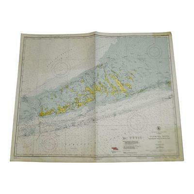 1952 United States Gulf Coast Nautical Chart No. 1251