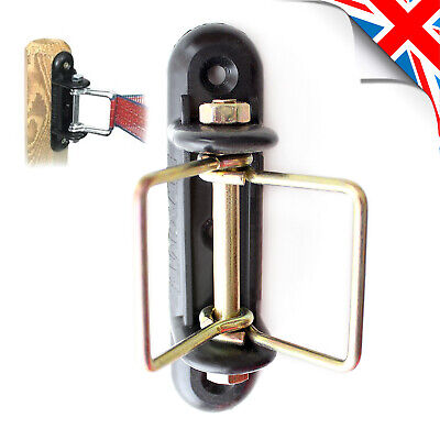051 Rope or Tape up to 20mm LACME Electric Fence Clip on INSULATOR for Wire
