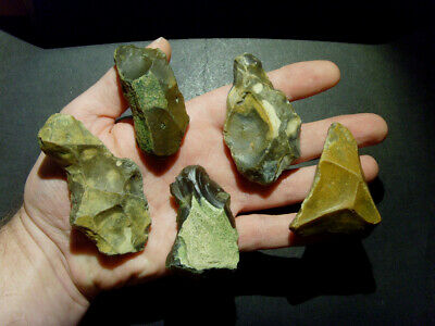 Lower Paleolithic - Superb Acheulean tool collection - UK C.350,000+ BP