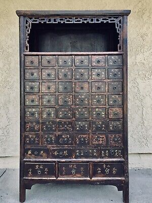 RARE - Chinese Apothecary  Cabinet -  49 drawers