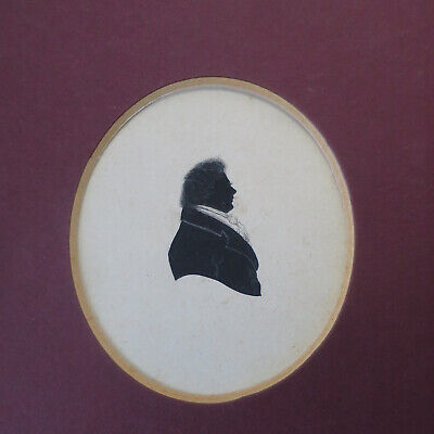 Antique Georgian Victorian Silhouette Portrait 5, one of several available