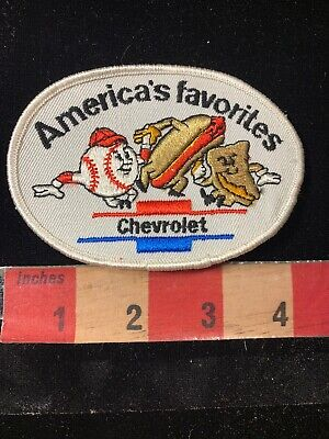 Vtg Car Auto IMPALA Embroidered Twill Advertising Patch 01N