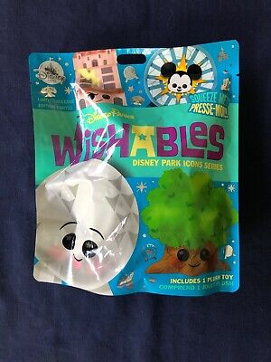 Disney Parks Wishables Park Icons Series Mystery Plush Toy LR UNOPENED PKG