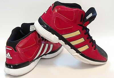 ⭐Adidas Pro Model O High Top Size 13M G22883 University Red, Great Condition