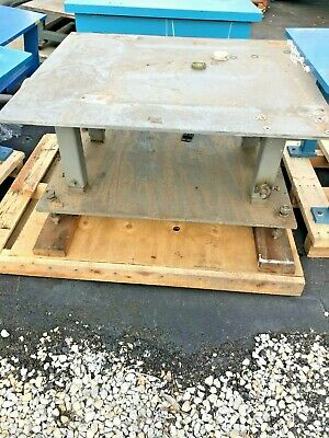 "1/2"" thick Steel Fab Machine Welding Layout Table Work Bench adjustable 36""x48"""