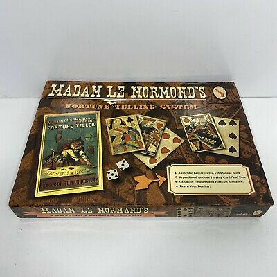 Madam Le Normands Fortune Telling System Oracle Destiny Book Cards Chart Of Fate