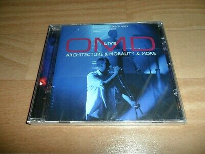 Orchestral Manoeuvres - Architecture & Morality Live (Sealed Live Cd Album)  Omd
