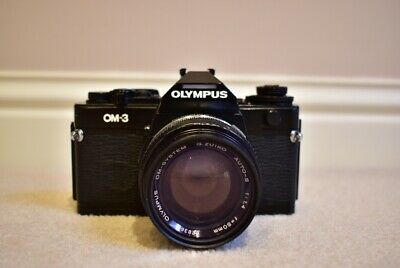 Olympus OM-3 with Zuiko 50mm F1.4 Lens in Excellent and Working Condition