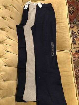 NWT - 3 Pairs Of Children's Place Foldover Waist Yoga Leggings- Youth XXL (16)