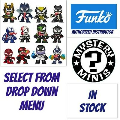 Funko Pop Mystery Minis: Marvel Venom In Stock Select From Drop Down Menu