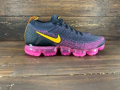 Nike Air Vapormax Flyknit 2 Gridiron Pink Blast Mens sizes 942842 008- NEW